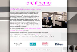 archithema - Showroom Vorwerk