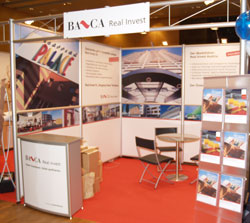 BA-CA Real Invest Fondskongress Messestand